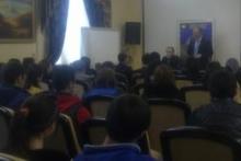 Встреча со студентами финансово-экономического факультета