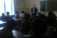 Встреча со студентами землеустроительного факультета