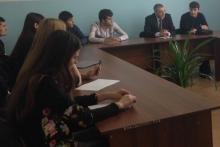 Встреча со студентами налогового факультета